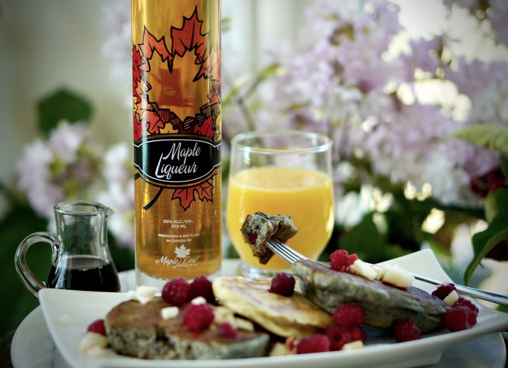 Have you tried pancakes with fruit and  Maple Liqueur? Mothers Day is coming!